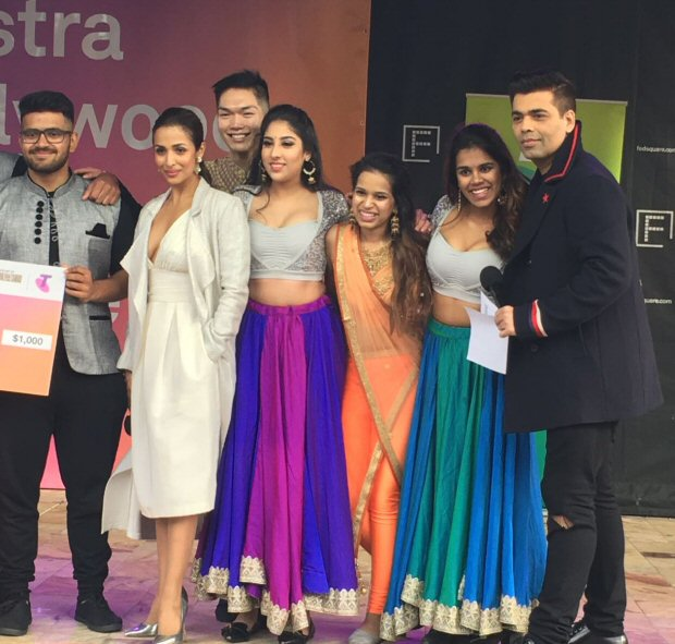 WOW! Dashing Karan Johar, glamorous Malaika Arora spotted giving out prizes at a Melbourne dance competition2
