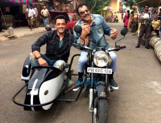 On The Sets Of Yamla Pagla Deewana 3