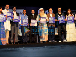 Varun Dhawan and Anupam Kher snapped at 'Rally For Rivers' event in Mumbai