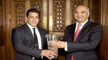 BREAKING Salman Khan honoured with Noble Diversity Award in United Kingdom