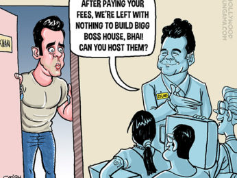 Bollywood Toons Salman to get Rs. 11 crore per episode for hosting Bigg Boss