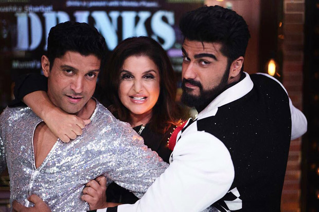 INSIDE PICS This is what happened when Farhan Akhtar and Arjun Kapoor came together for Farah Khan's show