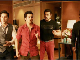 Judwaa 1 Salman Khan meets Judwaa 2 Varun Dhawan AND it's too much fun