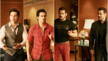 Judwaa 1 Salman Khan meets Judwaa 2 Varun Dhawan AND it's too much fun