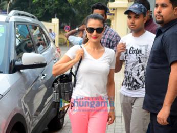 Kangana Ranaut and Ameesha Patel snapped at PVR Juhu