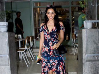 Kiara Advani and Sooraj Pancholi snapped at The Kitchen Garden