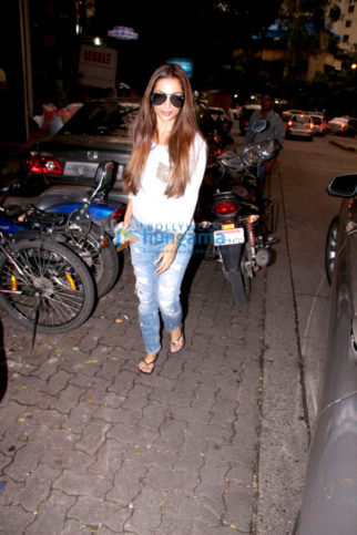 Malaika Arora snapped at a salon