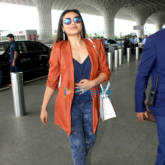 Rani Mukherji snapped at the airport today