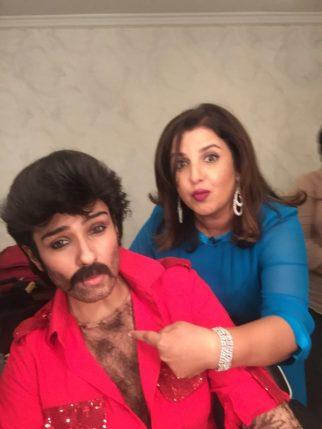 Raveena Farah Anil Kapoor1