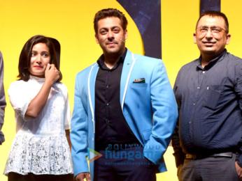 Salman Khan graces the press meet of the show Bigg Boss season 11