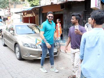 Shreyas Talpade snapped at a clinic in Bandra