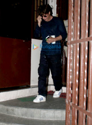 Shah Rukh Khan snapped outside a studio in Mumbai