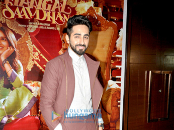 Success bash of 'Shubh Mangal Saavdhan'