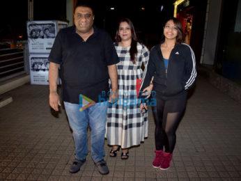 Varun Dhawan, Akshay Kumar, Alia Bhatt, Taapsee Pannu, Remo D'Souza and Kiara Advani grace the screening of Judwaa 2 at PVR Juhu