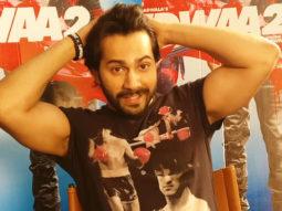Varun Dhawan Shares The AMAZING Exclusive Sneak Peak Of Salman Khan In Judwaa 2 video
