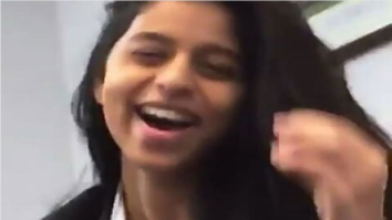 WATCH Shah Rukh Khan's daughter Suhana Khan does a cute hair flip while talking to her friends!