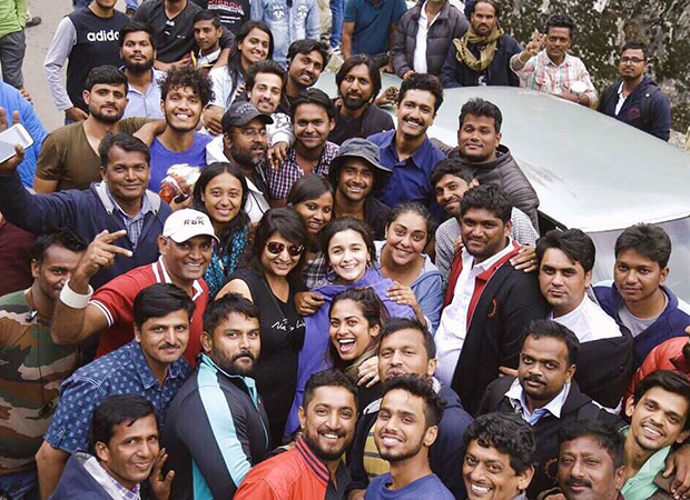 WOW! It's a wrap for Raazi's schedule in Kashmir