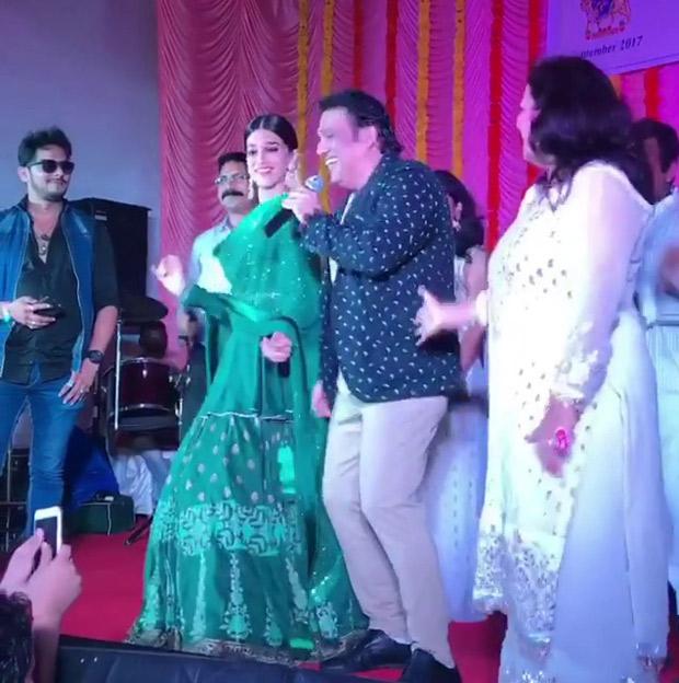 WOW! Kriti Sanon dances with Govinda on 'Main Toh Raste Se Ja Raha Tha'