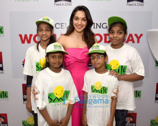 Kiara Advani promotes 'Quaker Feed A Child' initiative of Smile Foundation