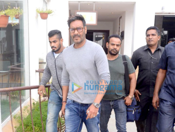 Ajay Devgn, Kunal Khemu and Parineeti Chopra promote Golmaal Again