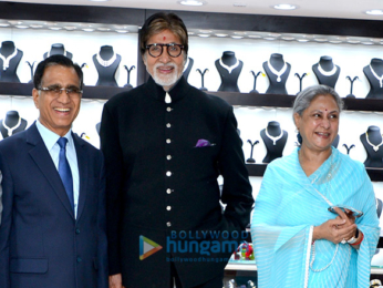 Amitabh Bachchan at the grand opening of Kalyan Jewellers in Bhopal
