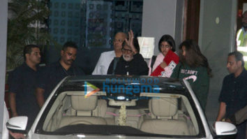 Amitabh Bachchan snapped returning from the Maldives