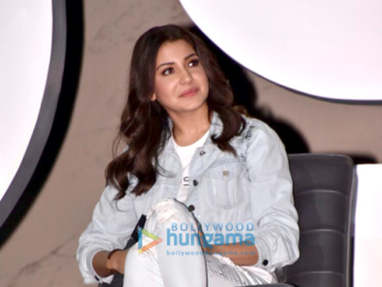 Anushka Sharma attends the press meet to announce about her new project