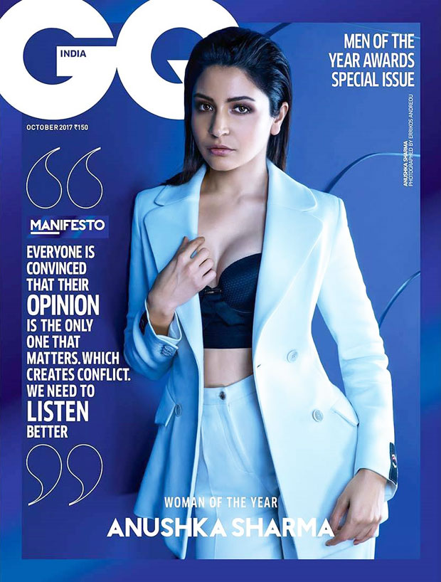 Anushka Sharma is giving 'BAWSE' vibes on GQ India