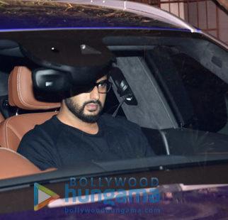 Arjun Kapoor and Imran Khan snapped at a screening at Sunny Super Sound