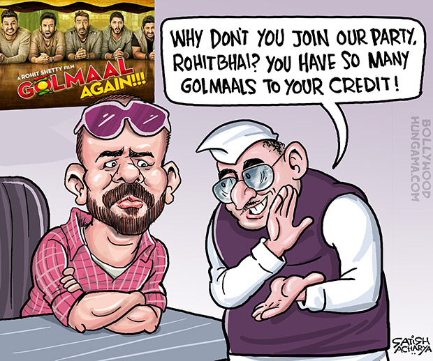 Bollywood Toons Golmaal Again, this Diwali!