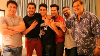 Check Out The Sizziling Chemistry Between Salman Khan & Varun Dhawan In This Behind The Scene Making Video