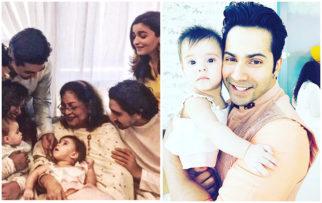 Check out Alia Bhatt and Varun Dhawan share cutest photos of Karan Johar's kids, Roohi and Yash  (2)