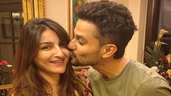 Check out Kunal Khemu gives a sweet kiss to Soha Ali Khan on her birthday