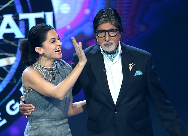 Check out: Taapsee Pannu reunites with Pink co-star Amitabh Bachchan on the sets of Kaun Banega Crorepati 9