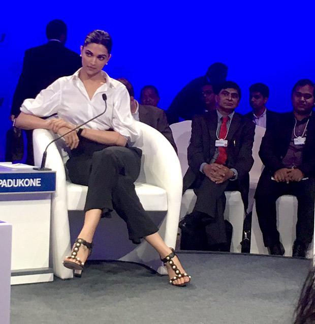 Image result for deepika padukone india economic summit