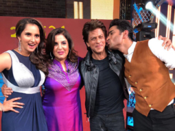 EXCLUSIVE When Shah Rukh Khan, Sushant Singh Rajput and Sania Mirza came on Farah Khan's show and set the stage afire! (1)