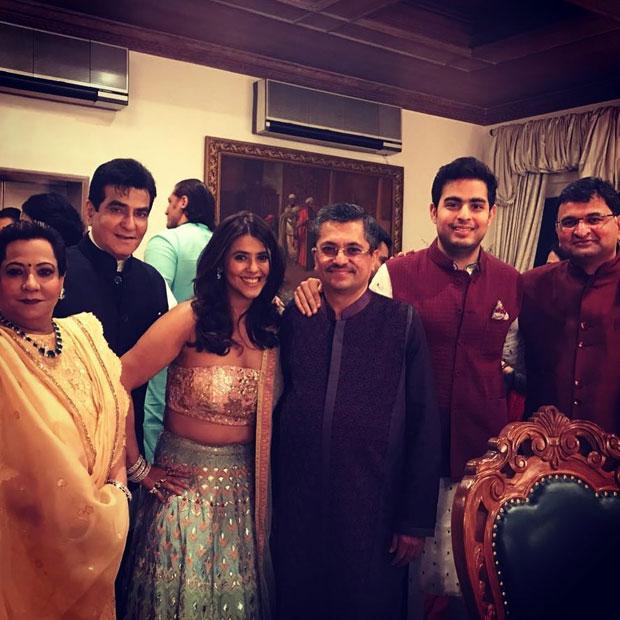 Ekta Kapoor's Diwali party 2017-12
