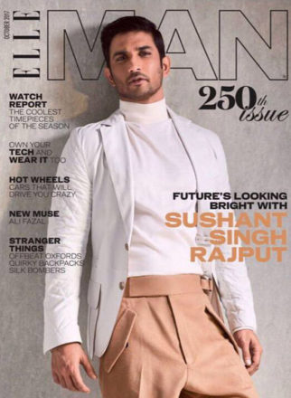 Sushant Singh Rajput On The Cover Of Elle Magazine