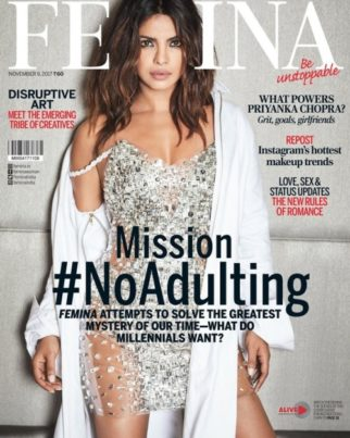 Priyanka Chopra On The Cover Of Femina