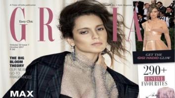 Kangana Ranaut On The Cover Of Grazia