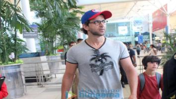 Hrithik Roshan and Sussanne Khan return from Goa