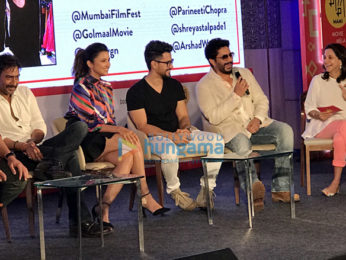 'Golmaal Again' team at 'Jio MAMI Movie Mela 2017'
