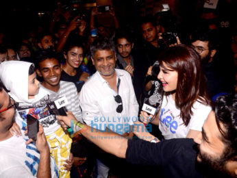 Jacqueline Fernandez attends the launch of the denim brand 'Lee'