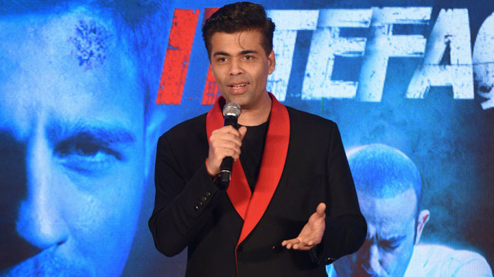 Karan Johar Comments About Nepotism & The Media Erupts In Laughter