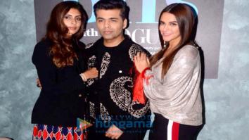 Karan Johar, Shweta Bachchan, Neha Dhupia shoot for VOGUE BFFs