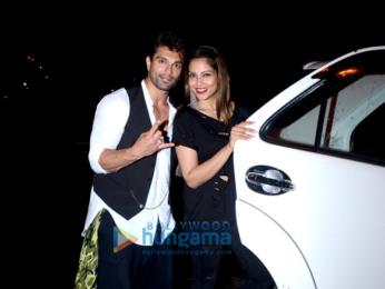 Karan Singh Grover and Bipasha Basu snapped