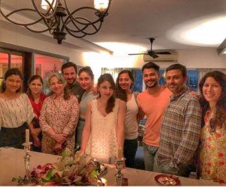 Kareena Kapoor Khan, Saif Ali Khan, Sharmila Tagore, Kunal Khemu make it family night on Soha Ali Khan's birthday
