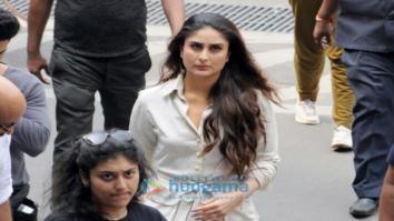 Kareena Kapoor Khan shoots at Mumbai airport for 'Veere Di Wedding'