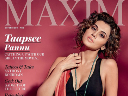 Tapsee Pannu On The Cover Of Maxim