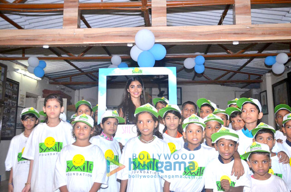 Pooja Hegde celebrates her birthday with kids from Smile Foundation